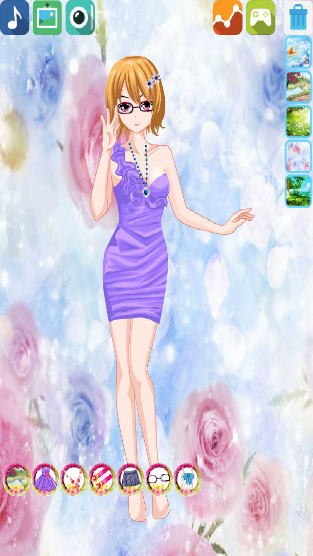 Hanayamata Dress screenshot 5