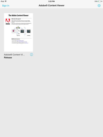 Adobe® Content Viewer screenshot 4