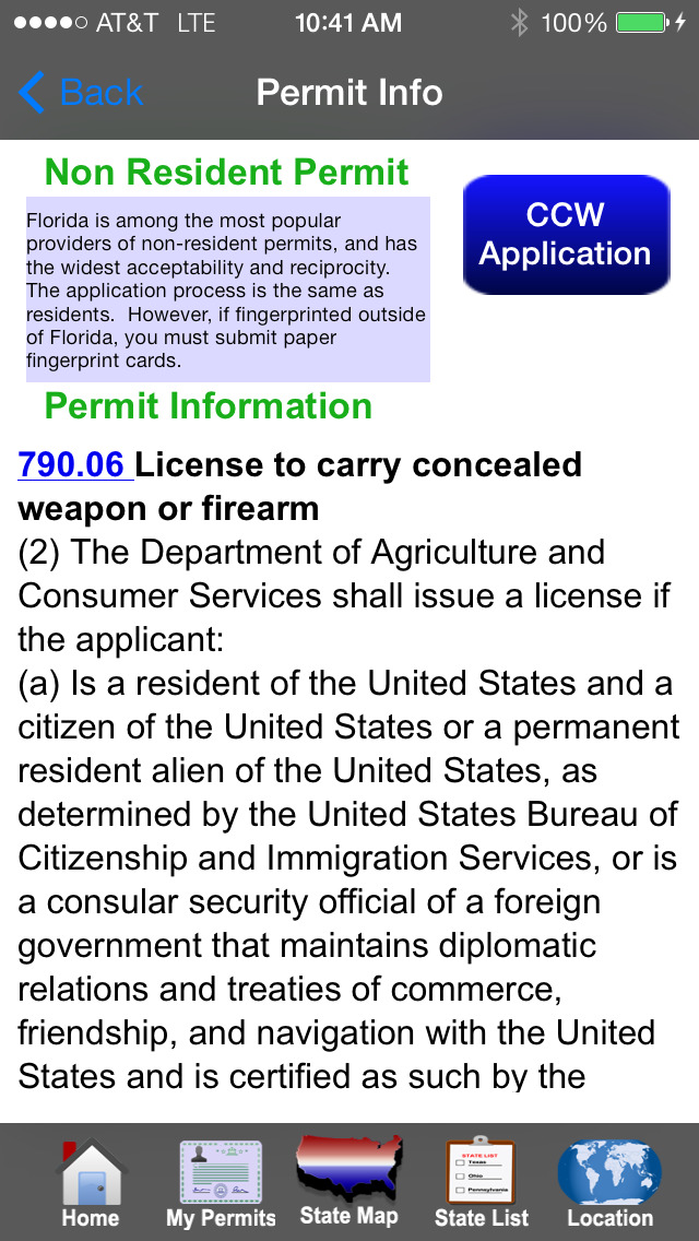 CCW – Concealed Carry 50 State screenshot 3