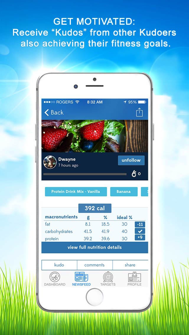 Kudolife - 7 Day Healthy Meal Plans & Recipes screenshot 4