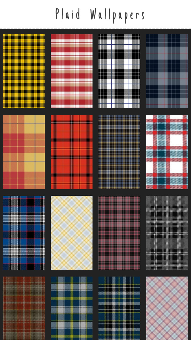 Plaid Wallpapers screenshot 1