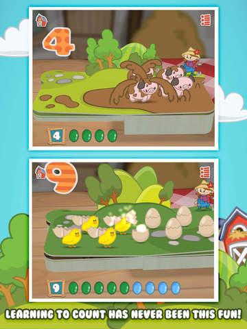 Farm 123 - Learn to count screenshot 8