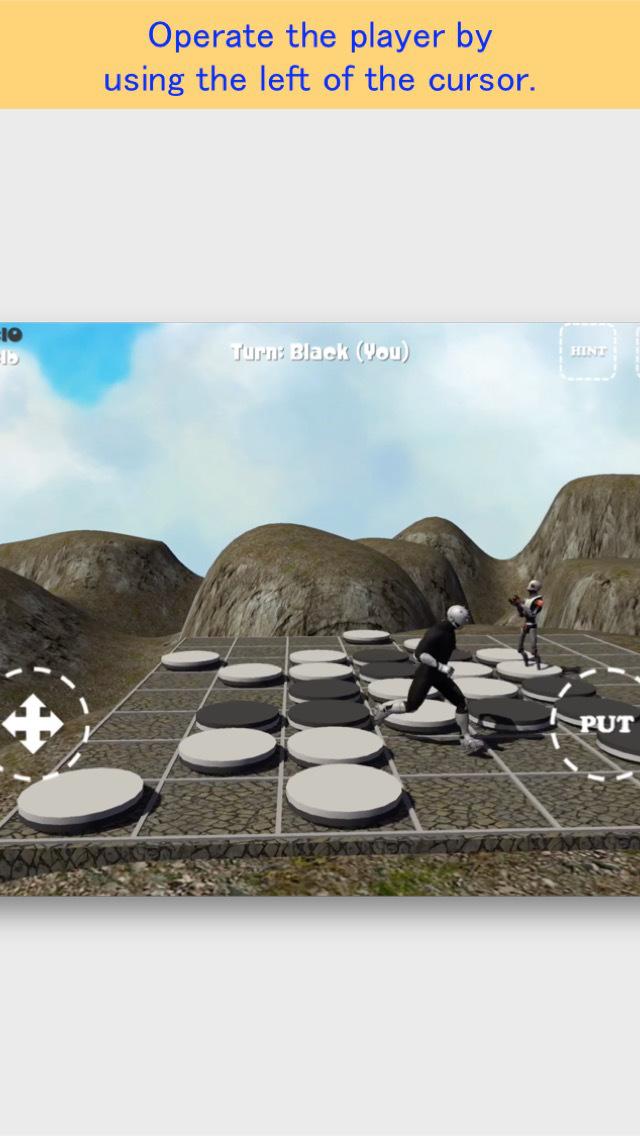Rooftop Othello Robo FREE screenshot 2