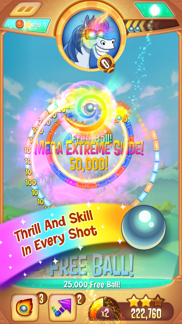 Peggle Blast screenshot 1
