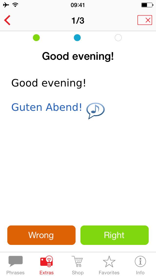 Talk&Travel Berlitz – the offline phrase books with audio. screenshot 5