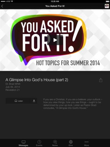 Abilene Baptist Church screenshot 6
