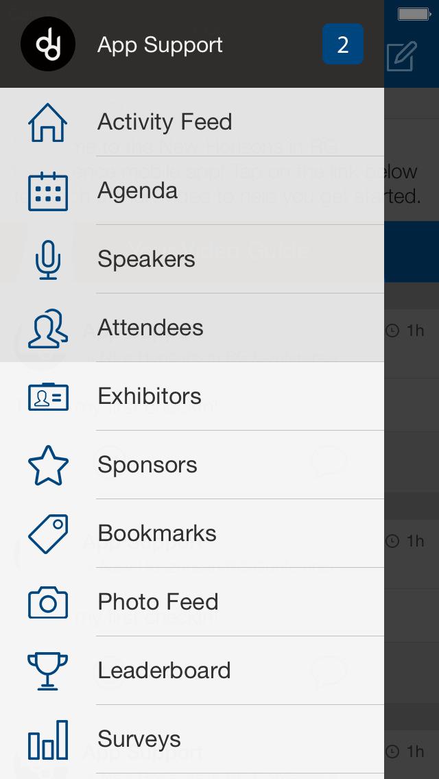 NRHA events screenshot 1