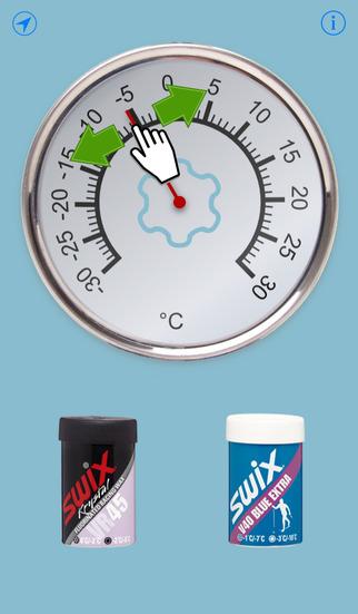 Smøretermometer screenshot 2