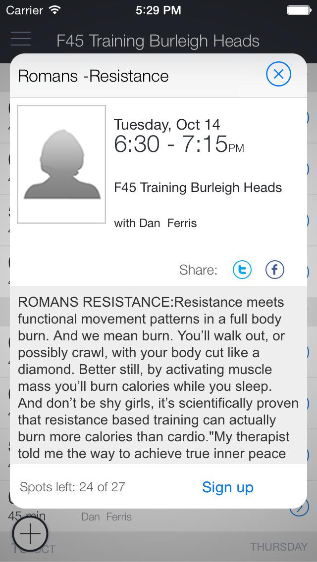 F45 Training Burleigh Heads screenshot 2