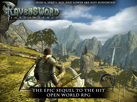 Ravensword: Shadowlands screenshot 8