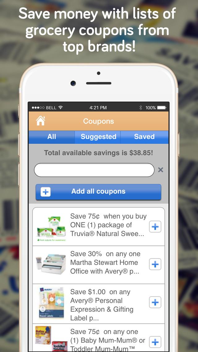 Shopper - Shopping List screenshot 5