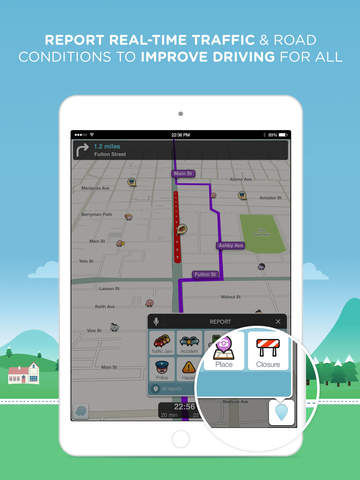 Waze Navigation & Live Traffic screenshot 8