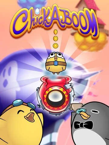 Chick-A-Boom - Cannon Launcher Game image #1
