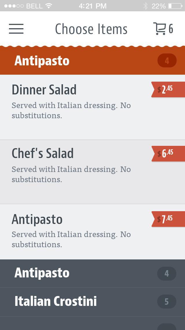 Riccardi's Italian Restaurant screenshot 3