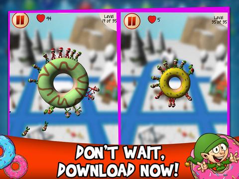 Christmas Elf Donut Defense screenshot 6