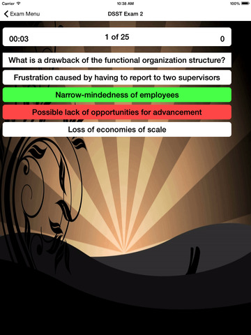 DSST Organizational Behavior screenshot 8