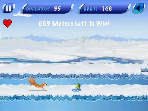 Frozen Icebreaker Runner screenshot 2