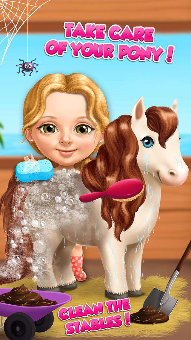 Sweet Baby Girl Summer Fun - Dream Seaside screenshot 1