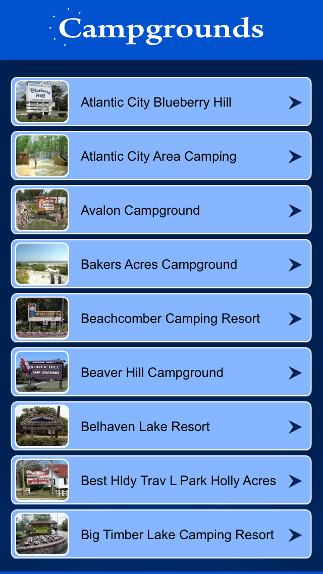 New Jersey Campgrounds & RV Parks screenshot 2
