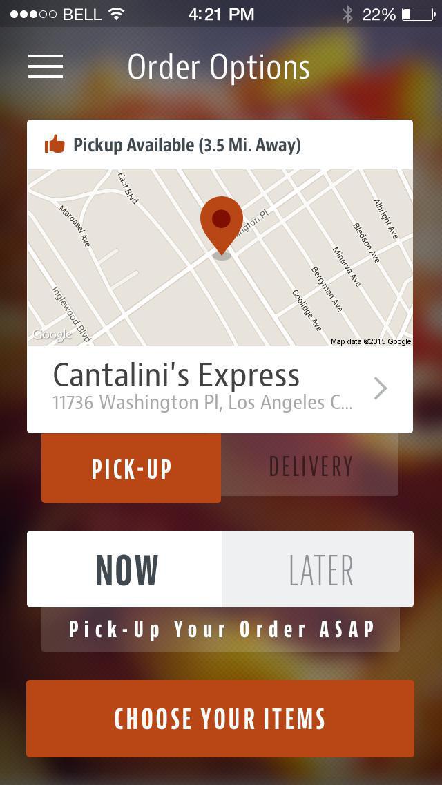 Cantalini's Express screenshot 2