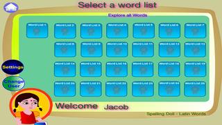 Spelling Doll English Words From Greek Vocabulary Quiz Grammar screenshot 3