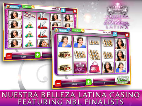 Nuestra Belleza Latina Casino - FREE Slots, Blackjack & Video Poker screenshot 7