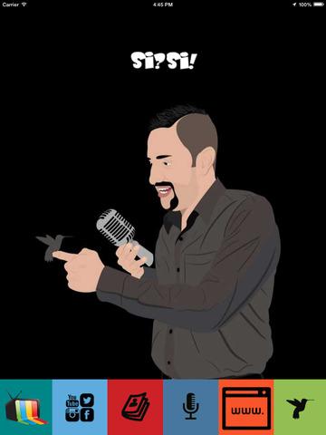 Farid El reportero en la Frontera de El Gordo y La Flaca - Si Si version screenshot 6