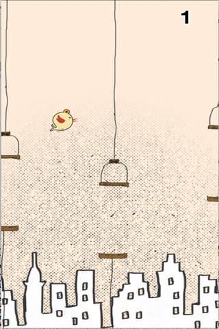 Hand Drawn Flying Birdeee - náhled