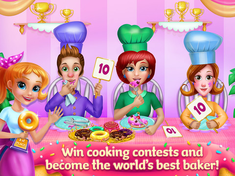 My Sweet Bakery - Delicious Donuts screenshot 9