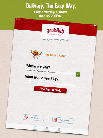 Grubhub: Local Food Delivery screenshot 6