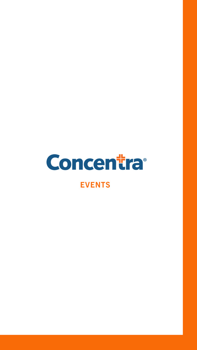 Concentra Events screenshot 2
