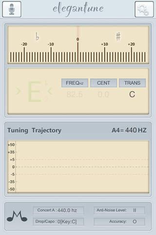 Elegantune - The most Professional Chromatic Tuner - náhled