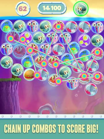SpongeBob Bubble Party screenshot 7