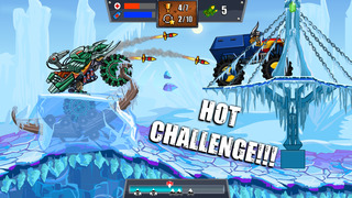 Mad Truck Challenge - Destroy cars and perform extreme stunts in this hill climb racing game screenshot 1