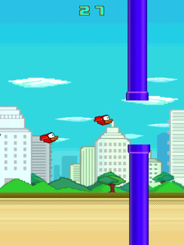 Flappy Red : A Family of Mini Bird Games screenshot 4