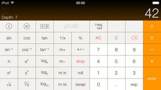 PCalc Lite screenshot 1