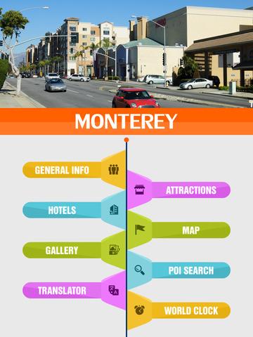 Monterey City Offline Travel Guide screenshot 7