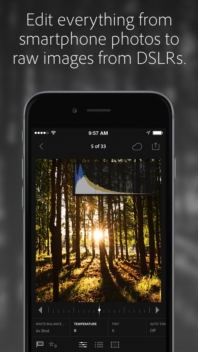 Adobe Lightroom Photo Editor screenshot 2