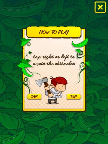 A Big Hero vs 6 Mile Tall Beanstalk Chopping Game screenshot 4