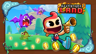 Adventure Land - Rogue Runner Game screenshot #1