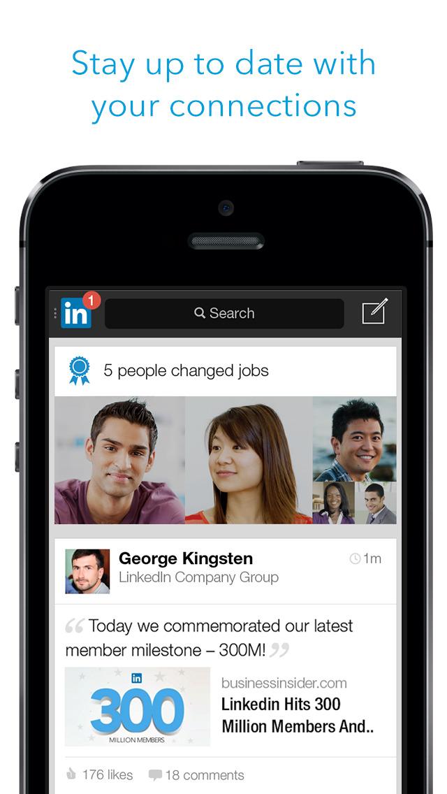LinkedIn: Network & Job Finder screenshot #3