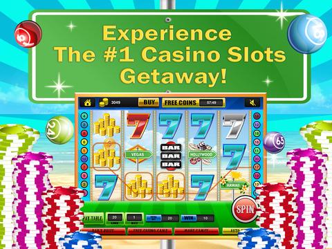 Ace Classic Vacation Slots Casino - Hawaii, Hollywood & Vegas Slot Machine Games HD screenshot 6