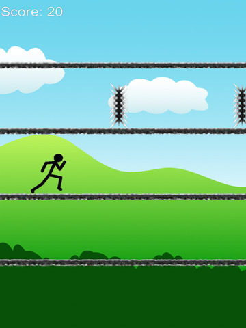 A long way - stickman jump and run free screenshot 4