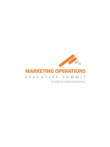 Marketing Operations Summit screenshot 4