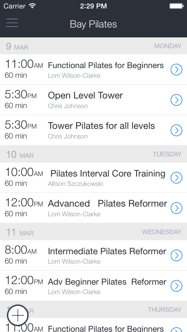 Bay Pilates and Wellness screenshot 1