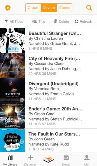 Audible audio books & podcasts screenshot 3