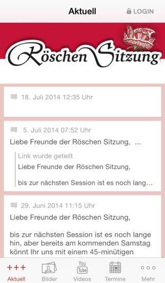 Röschen Sitzung screenshot 1