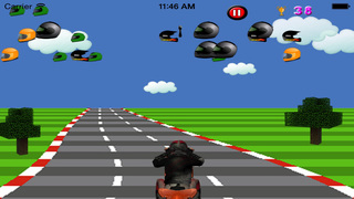 Crazy Bike Racing screenshot 2