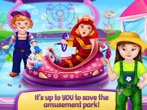 Baby Heroes Amusement Park screenshot 6