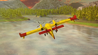 Airplane Firefighter Simulator PRO - Full 3D Fire & Rescue Firefighting Version screenshot 4
